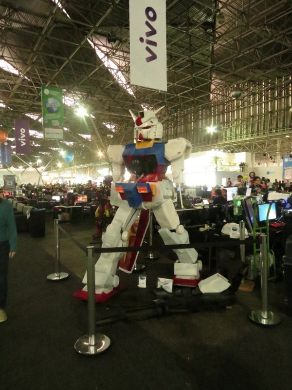 Gundam na Campus Party 2013