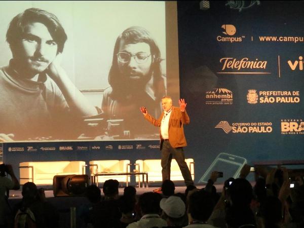 Nolan Bushnell, fundador da Atari - Campus Party 2013