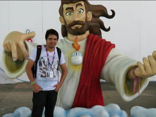 Tarcísio Ruas, representante do DigitalDev e Não Salvo - Campus Party 2013
