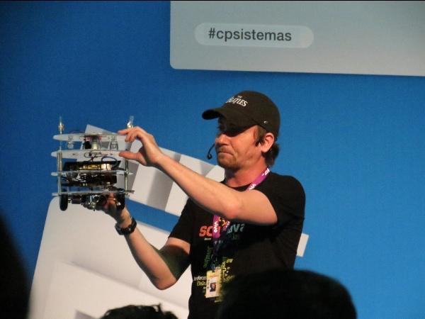 Vinicius Morandin Senger - Fundador da Globalcode - Campus Party 2013