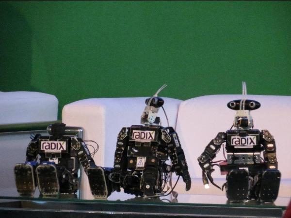 Robôs - Campus Party 2013