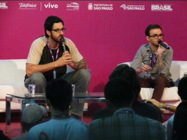 Rafinha Bastos e PC Siqueira - Campus Party 2013