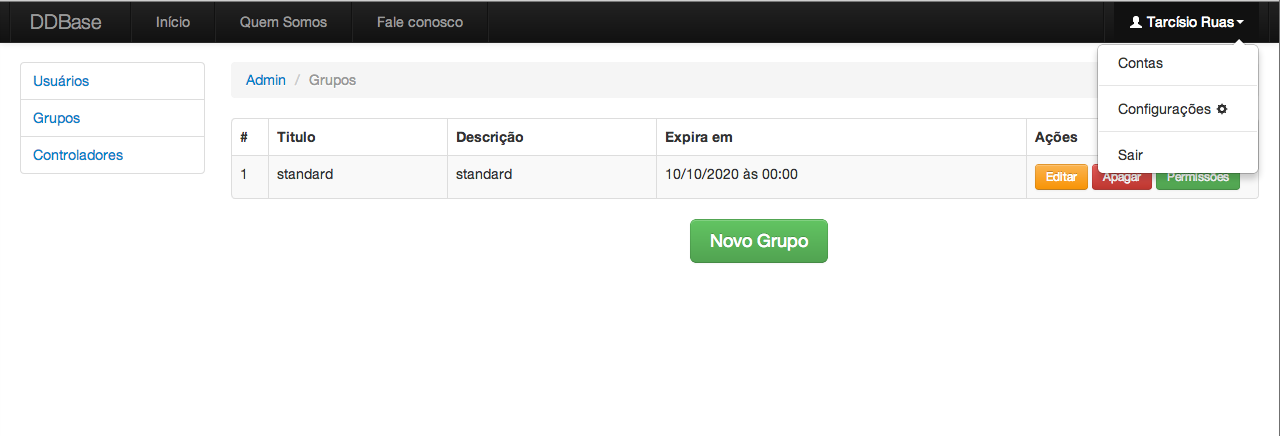 Twitter Bootstrap - Exemplo 2