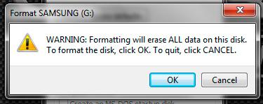 Formatando HD externo em exFat